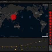 Mappa Coronavirus nel mondo
