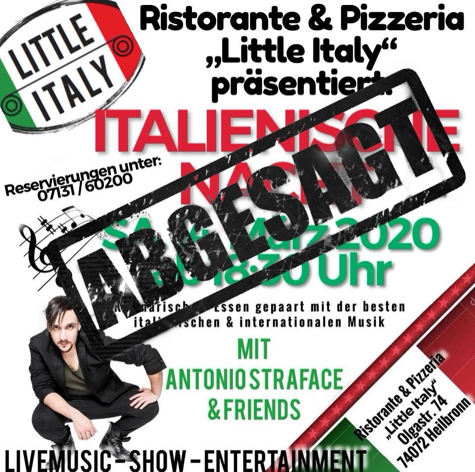 Italienische Nacht mit Antonio Straface&Friends