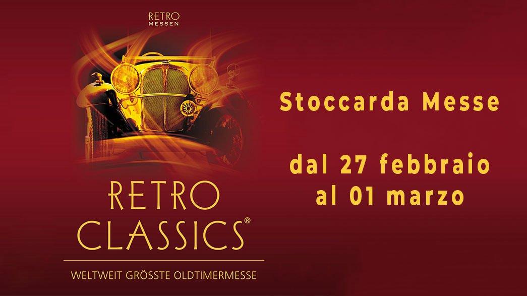 Copertina Retro Classics Fiera a Stoccarda