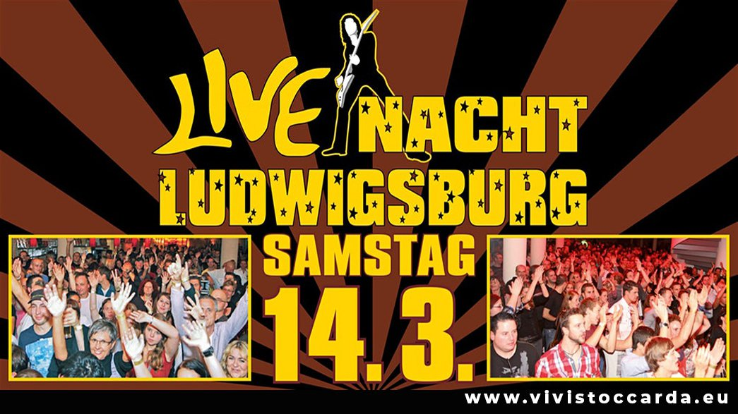 Locandina 28° Live Nacht Ludwigsburg