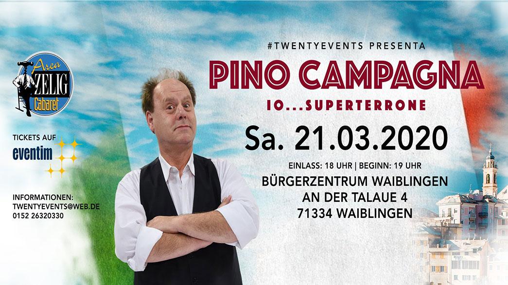 Pino Campagna a Waiblingen
