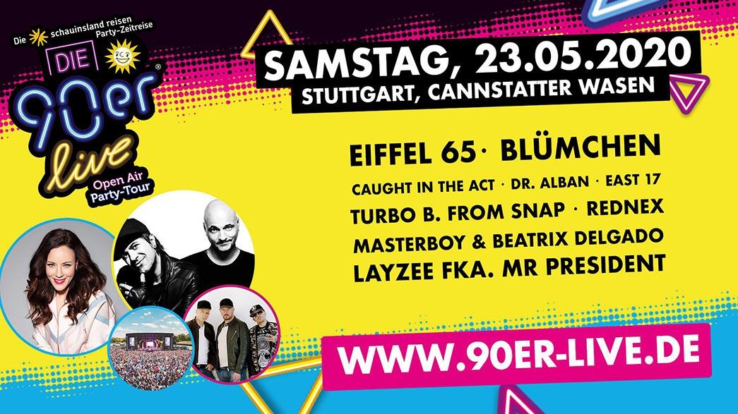 Die 90er Live Stuttgart
