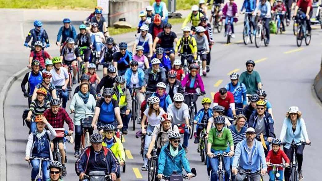 Fahrrad-Klima-Demo