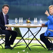 Incontro tra Conte e Merkel tra intese e spaccatura