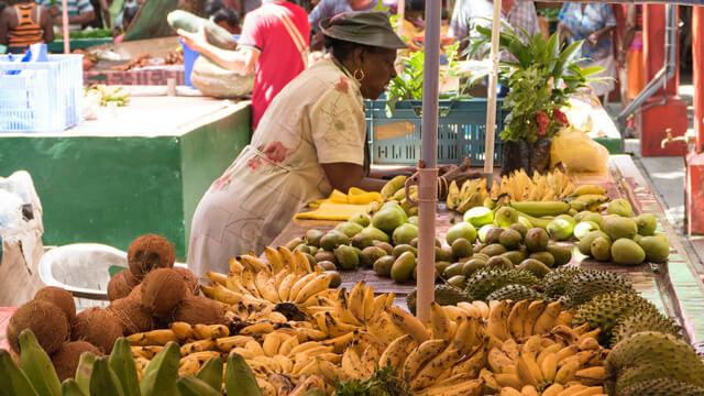 Seychelles Eden dell'Oceano Indiano mercato