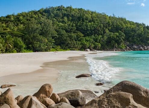 Seychelles Eden dell'Oceano Indiano Anse Georgette Praslin
