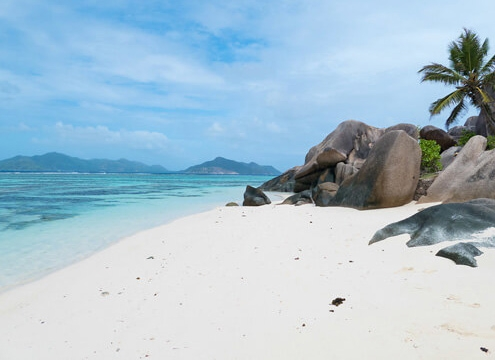 Seychelles Eden dell'Oceano Indiano Anse Source Dargent