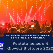 DG E20 COSA FARE A STOCCARDA 8 OTTOBRE 2020