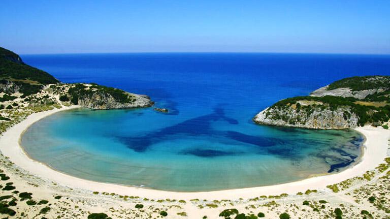 Voidokilia, Peloponneso