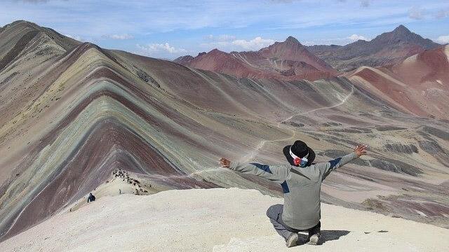 Perù Montagna Arcobaleno