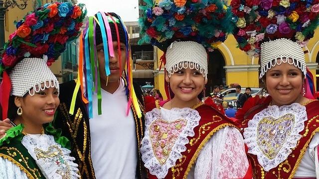 Perù sfilata