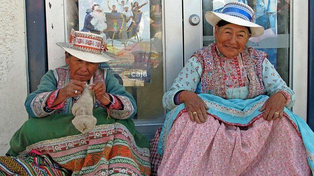 Perù Donne anziane
