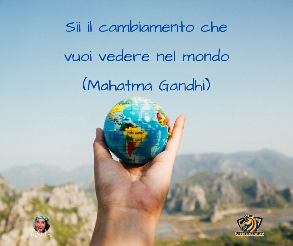 La frase di Mahatma Gandhi