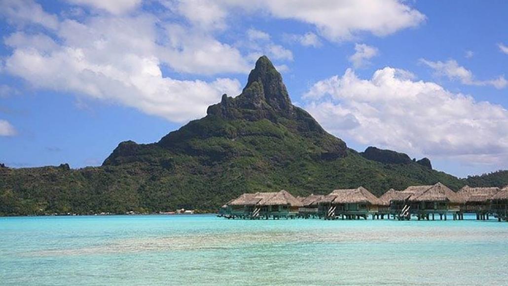 Bora Bora vulcano