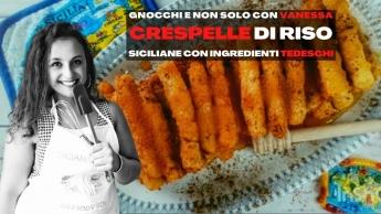 Crespelle di riso siciliane