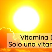 Immagine del sole con logo nutrizionista e titolo articolo Vitamina D: solo una vitamina?