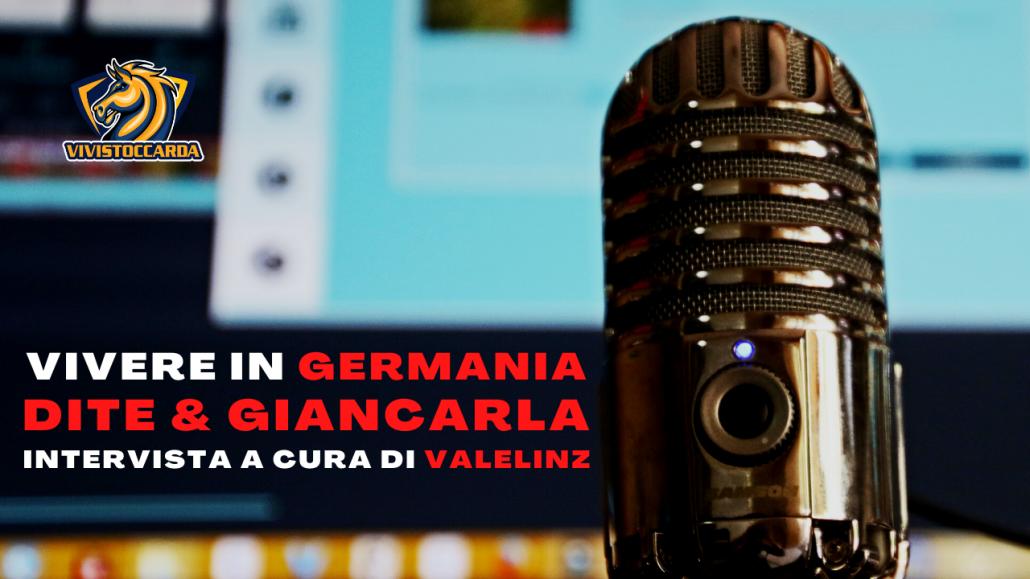 Valelinz intervista Dite & Giancarla podcast